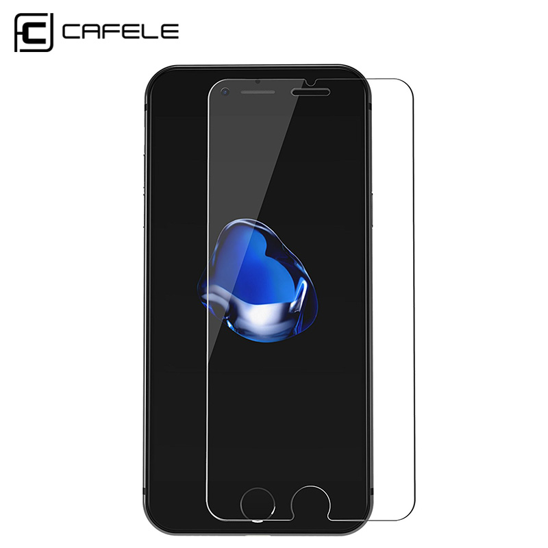 CAFELE HD Clear Tempered Glass for iPhone 11 pro MAX X XS MAX XR 8 7 Plus 6 6s 6 Plus Glass Screen Protector Պաշտպանիչ ֆիլմ