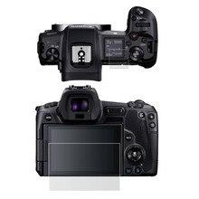Самоклеящееся закаленное стекло/пленка основной ЖК-дисплей+ верхняя плечевая информация Защитная крышка для камеры Canon EOS R EOSR