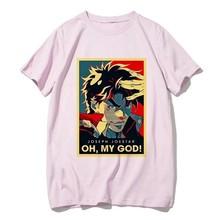 Japon Anime chemise JoJo Bizarre aventure T-shirts drôles pour homme femme t-shirt décontracté Jojo t-shirt Hip Hop top T-shirts homme femme