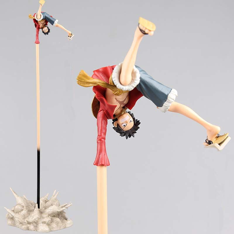 ONE PIECE Luffy PVC Action Figure Collection Model Toy 8cm Size Anime Toys 35cm height anime one piece beautiful nami model garage kit pvc action figure classic collection toy doll