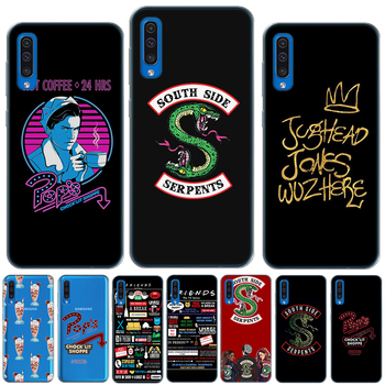 Friends TV Show Riverdale Dominant Silicon Cover For Samsung Galaxy A10 A20 A30 A40 A50 A60 A70 A80 A9 2018 M10 M20 M30 TPU Case image