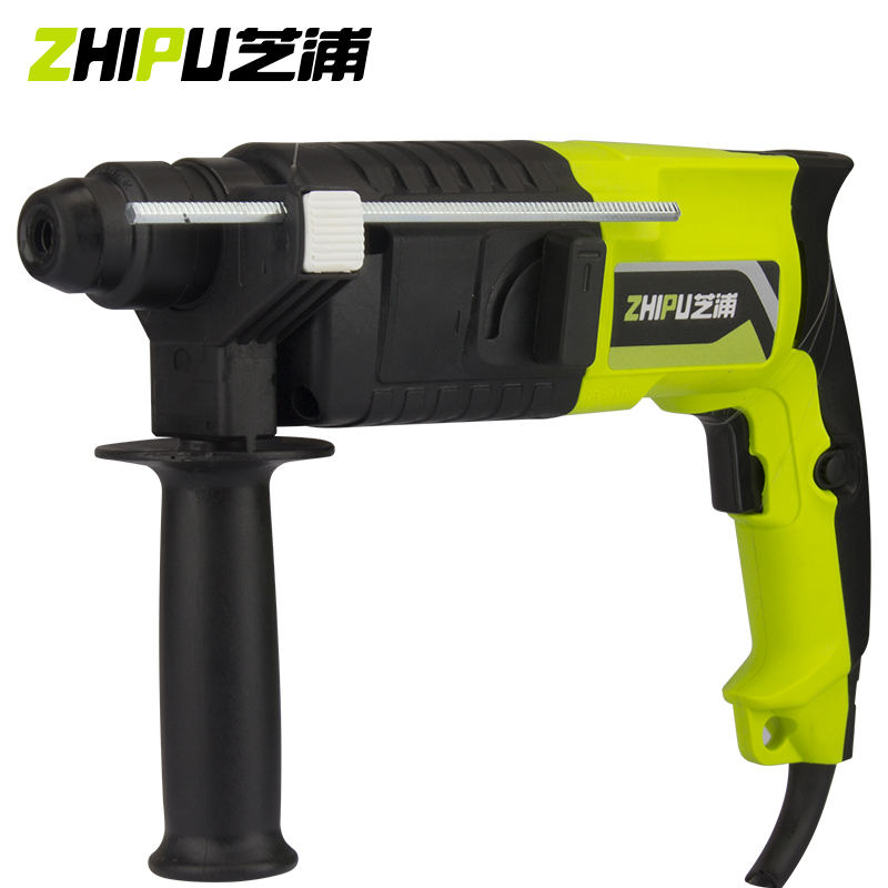 ZHIPU Light Rotary Hammer Drill Electric Drills Two Multi-purpose High-power Household Electric Tools Concrete Impact Drill multi purpose impact drill for household use la414413 upholstery drilling wall percussion impact drill set power tools 220v 810w