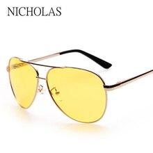 Brand Polarized Night Vision Goggles Sunglasses Men Women 2016 Driving Sun glasses For Men occhiali da sole Oculos Gafas De Sol
