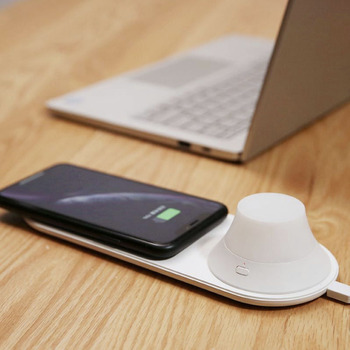 Wireless Charger LED Night Light Magnetic Attraction Cellphones & Telecommunications