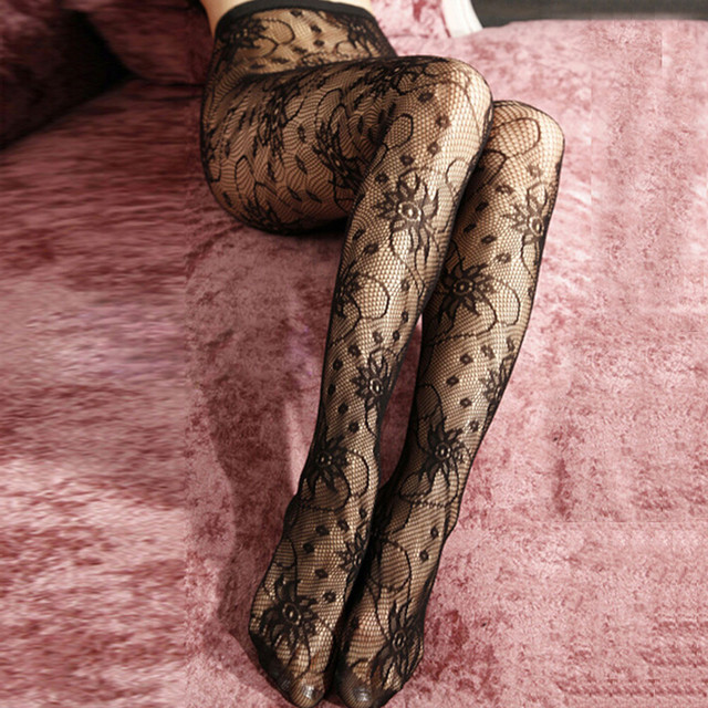 034bb1db31e Fashion sexy Tights Pantyhose with print Women s Fishnet Compression Body  stockings Pattern Tattoo collant femme fantaisie  E0