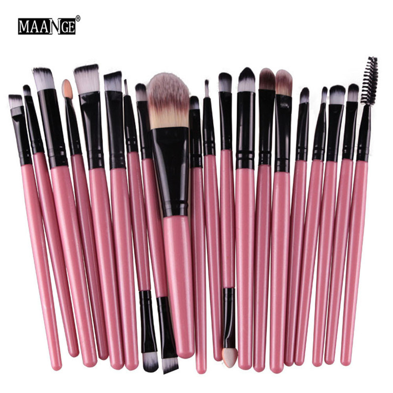 Makeup Brushes Professional 20pcs/set Make up Brush Set Foundation Powder Eyeshadow Blush Eyebrow Lip pincel 1