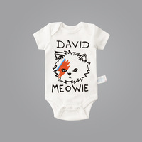 100 Cotton Baby Boys Summer Baby Costumes Cartoon Cat Children S Clothing Funny Baby Rompers Cute