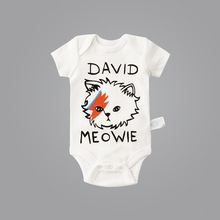 100% Cotton Baby Boys Summer cute Costumes Cartoon Cat Children's Clothing Funny Baby Rompers Cute Baby Wear Baby Boy