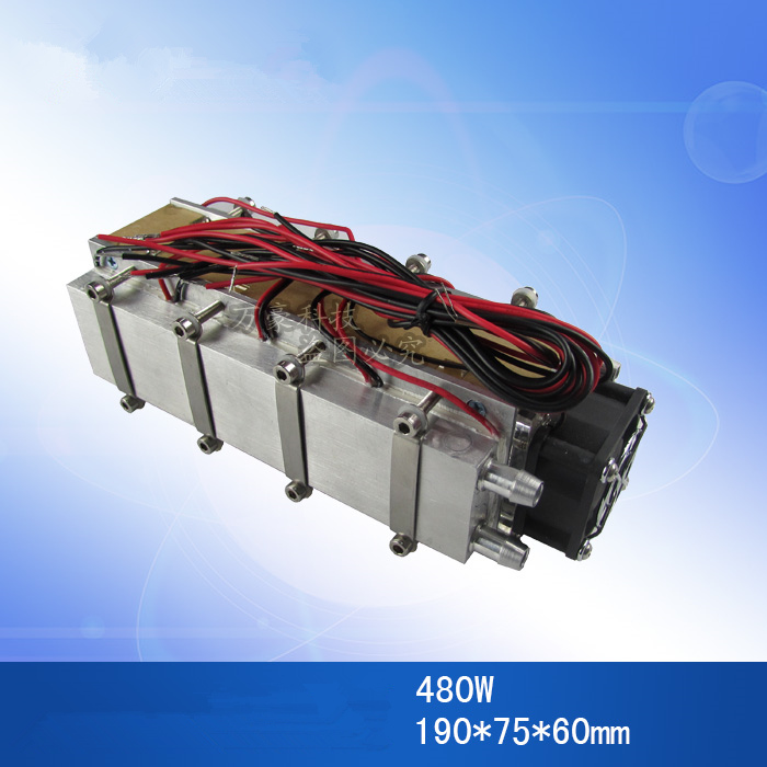 12V 240W 480W Semiconductor refrigeration CPU auxiliary water cooled air conditioner fan Space temperature cooling cold