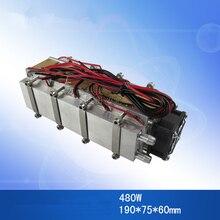 Refrigeración de semiconductores de 12V, W y 480 240W, ventilador auxiliar refrigerado por agua para aire acondicionado, refrigeración por temperatura espacial, viento de aire frío