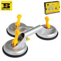 BOSI 155kg Capacity Triple Suction Cup Dent Puller Glass Mover Tool