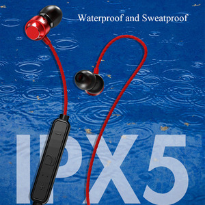 Image 3 - Neckband Magnetic Attraction Bluetooth Earphone Waterproof In Ear Wireless Headset Sport with Noise Canceling Microphone Hifi