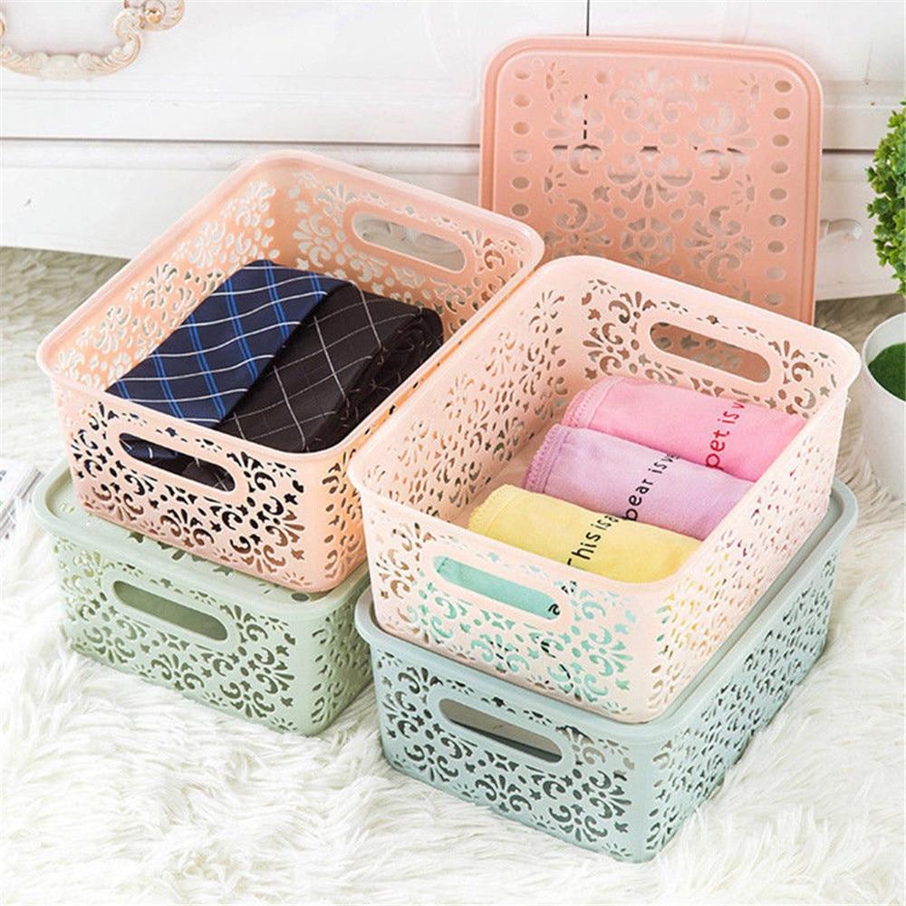 Hollow Storage Case Holder Fashion Lipstick Cosmetic Stand Display Clothing Socks Storag ...