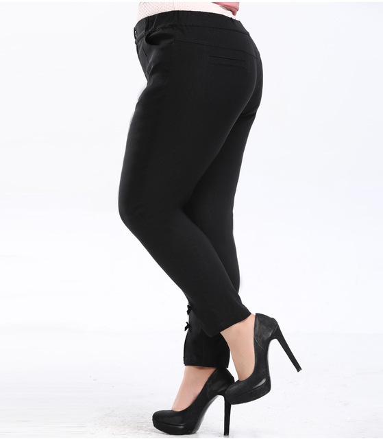 Plus Size 4XL 6XL 8XL 10XL pencil Pants for Women Office Lady Style Work Wear Trousers Female Clothing Business PANT YB08 3