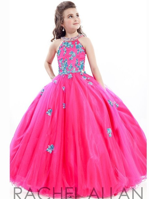 Popular Hot Pink Puffy Dresses for Kids-Buy Cheap Hot Pink Puffy ...
