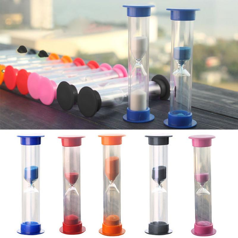3/5/10 Minutes Colorful Hourglass Mini Sand Timer Sand Dropping Time Counter Sandglass Sand Clock Timers Home Decorations #2 image