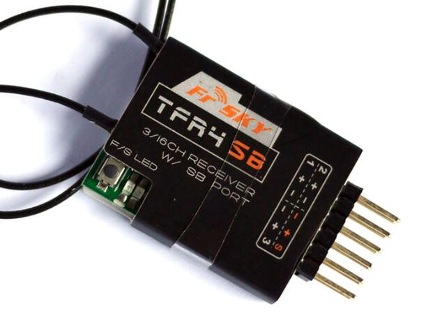 FrSky TFR4SB 3 16Ch SBUS Receiver 2 4GHz Compatible CPPM Futaba FASST S Bus