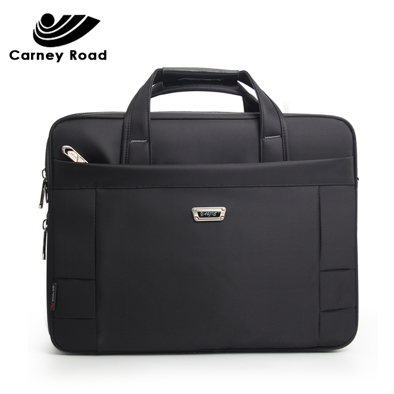 Famous Brand Business Men Bag 15.6 Inch Laptop Handbag Women Briefcase Bag Large Casual Messenger Bag Document Office Bag