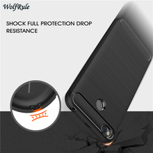 hot deal buy wolfrule case for xiaomi redmi 4x cover shockproof tpu brushed style for xiaomi redmi 4x case phone bag for redmi 4x funda 5.0''
