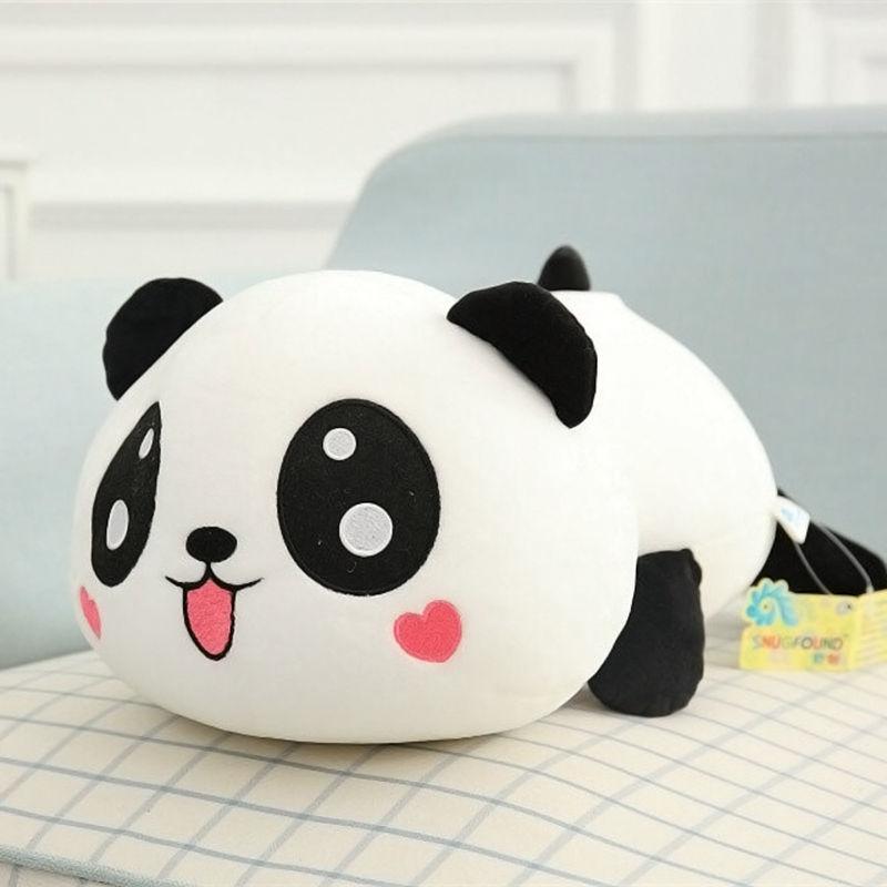 Pudcoco 20CM Cute Kawaii Soft Stuffed Animal Panda Plush Doll Toys For Children Birthday Christmas Gift Kids Toys
