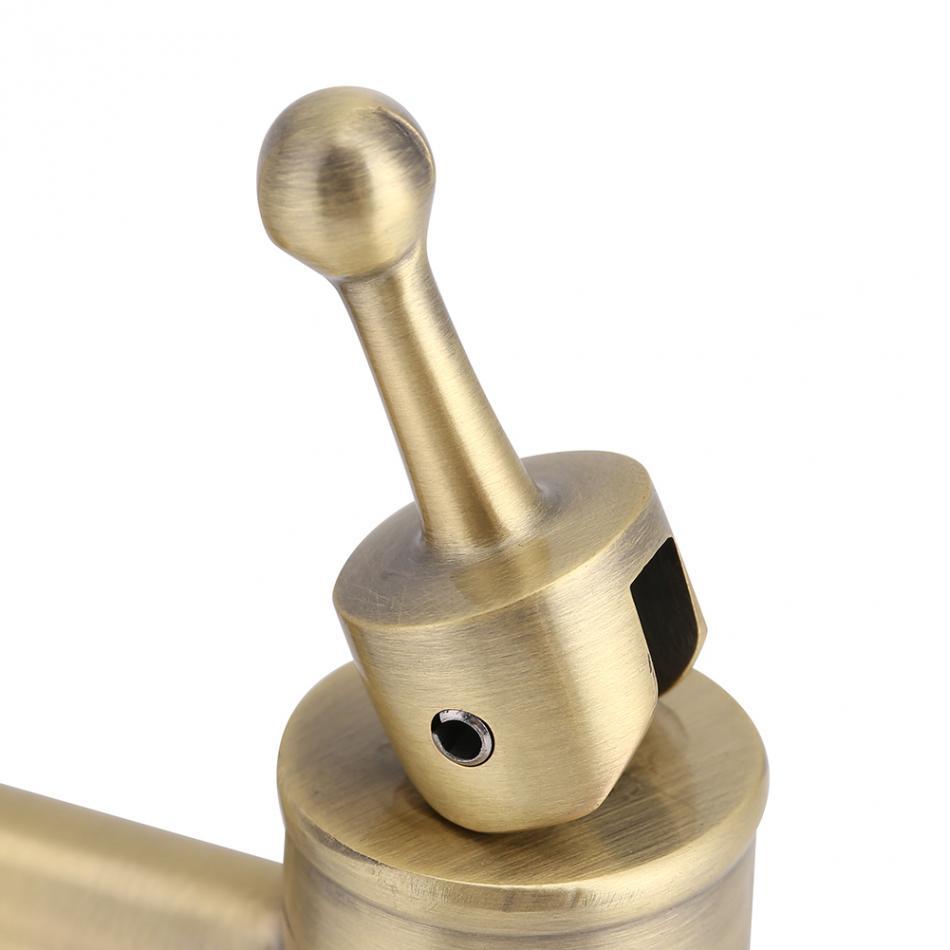 Chrome 1.2cm Copper Faucet Tap Dispenser Water Dispenser Replacement Faucet for Wine Beer Barrel Beverage Drink Dispenser Replacement Spigot