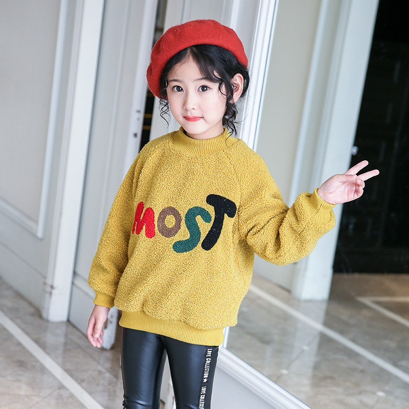 new long sleeve sweatshirts spring 2018 kids girls letter sweatshirt baby girl pullover top size for 3 4 5 6 7 8 9 10 11 12 year brooklyn letter cropped long sleeve top