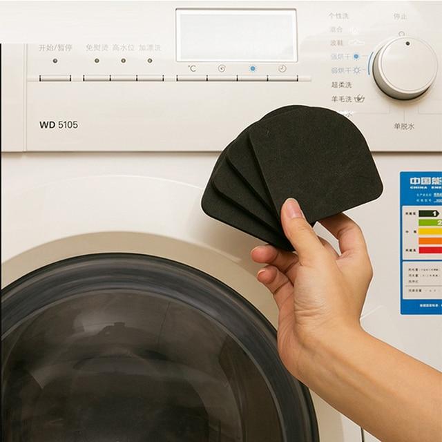 4 PCS Pack Washing Machine Refrigerator Shockproof Pad Household Electric Appliances Sponge Non-slip Mat Bathroom Accessories 1