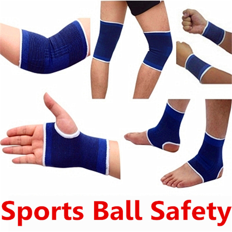 Free Shipping Professional Cycling Equipment Sports Safety Knee Pads&Ankle Support&Arm Warmers&Wrist Support Ball Game Safetys
