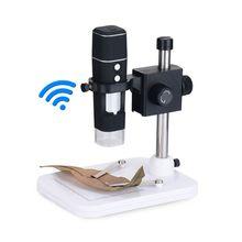1000x wifi 디지털 현미경 무선 wifi 휴대 전화 전자 현미경 usb 디지털 현미경 카메라 pcb 검사