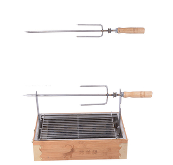 Burn oven BBQ gril Charcoal barbecue pits Fry/bake Kitchen supplie Sizzling iron tool