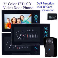 Free shipping 7 Intercom font b Door b font Phone HD font b Camera b font