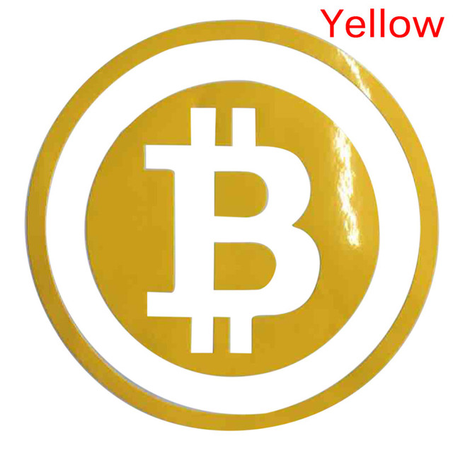 Large Bitcoin Car Sticker Cryptocurrency Blockchain Freedom Sticker Vinyl Car Window Decal 5