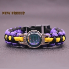 New Movie Guardians of the Galaxy Vol. 2 Paracord Bracelets Marvel Art Super Fashion Outdoor Jewelry For Women Men fans