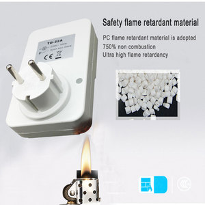Image 5 - EU/US/UK Plug Electronic Mechanical Timer Socket Energy Saving 24 Hours intelligent home Protector Certification by CE ROHS GS