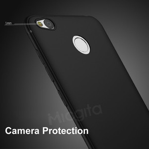 Image 5 - Funda de silicona para Xiaomi Redmi 4X, carcasa suave equipada de TPU con superficie mate a prueba de golpes para Xiaomi Redmi 4X