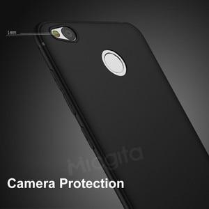 Image 5 - Silikon Fall Für Xiaomi Redmi 4X Stoßfest Matt Oberfläche Weiche TPU Einbau Abdeckung Für Xiaomi Redmi 4X Fall Anti fingerprint