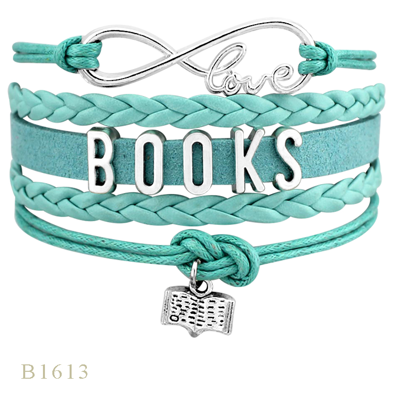 High Quality Read Reading Books Radiology Rad Tech Sonographer Law Biology Science History Subjects Bracelets for Women