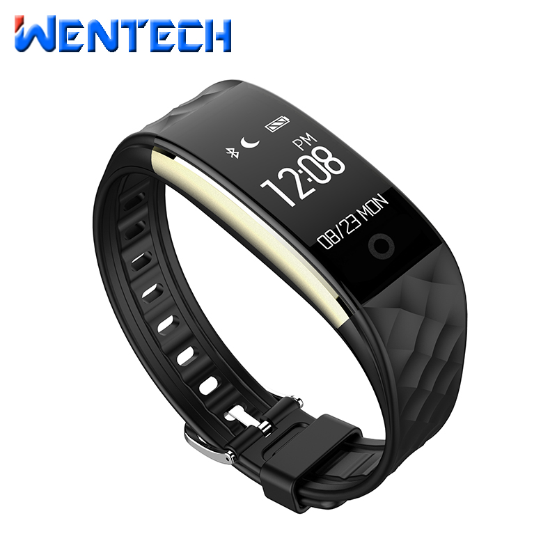 Dynamic heart rate Smart health bracelet S2 Pedometer IP67 Waterproof remote camera Sport Bluetooth Smartband Touch