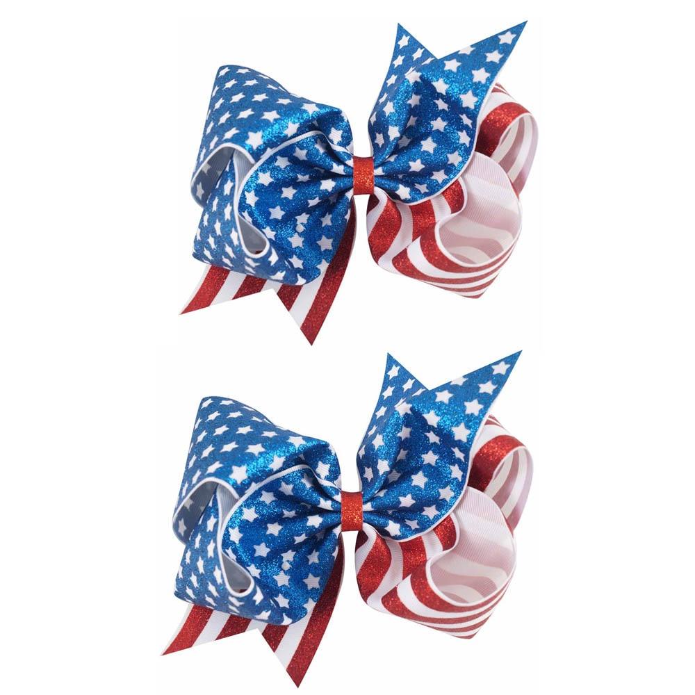 Patriotic Boutique Hair Bow