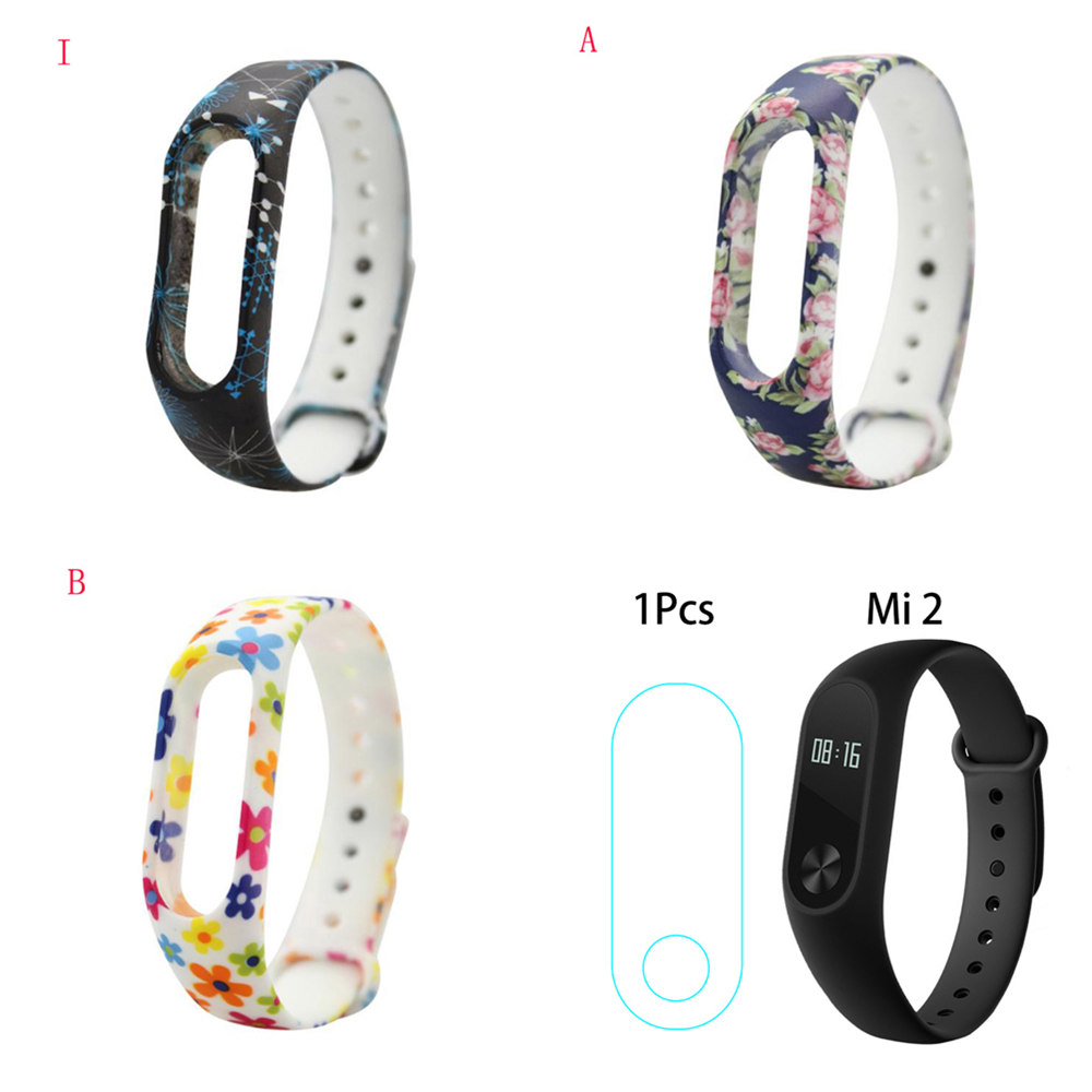 Strap-Belt Mi-Band Smart-Bracelets Xiaomi 2-Accessories Silicone Special for 17-Colors