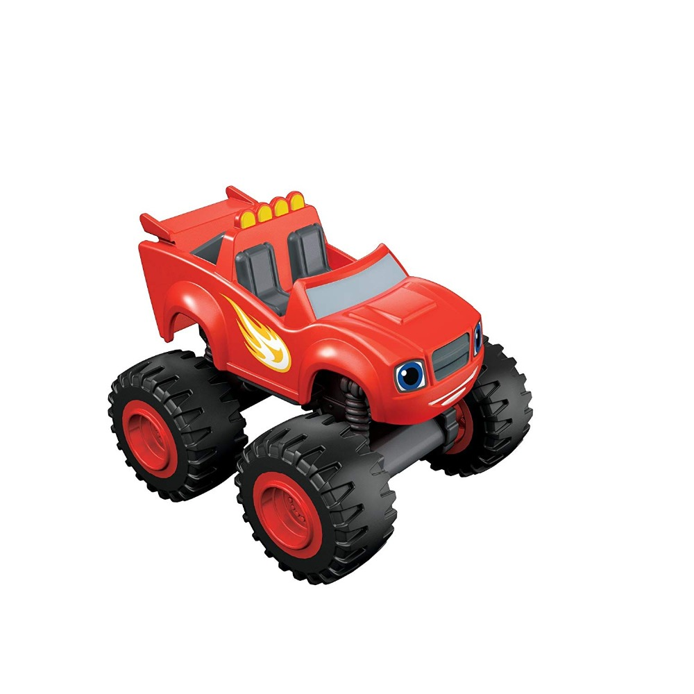 The remote control toy car traffic monster glide monster truck 6 flame and machinery