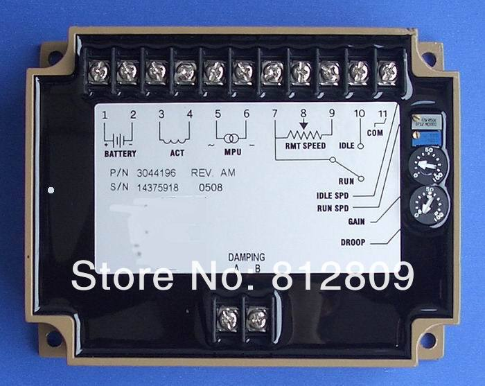 Régulateur de vitesse 3044196 générateur