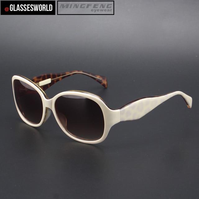 a673c00d4ebde Mulheres da moda óculos de sol brancos com boa qualidade óculos de sol de  acetato b9243