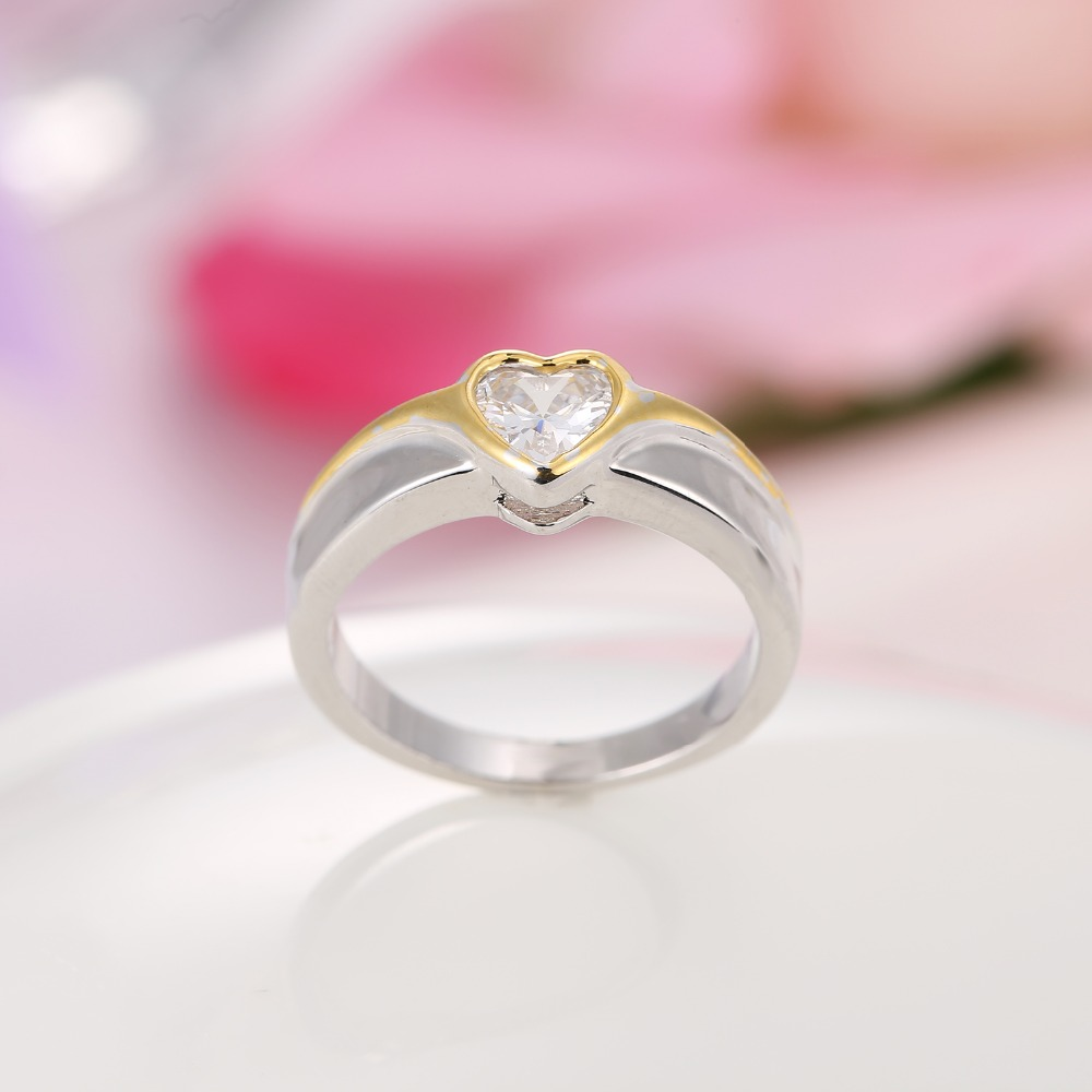 Aliexpress.com : Buy Round Cut gold color CZircon Crystal Round ...