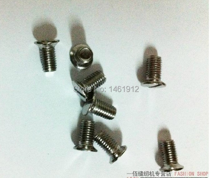 Household sewing machine accessories - old butterfly sewing The needle board screw
