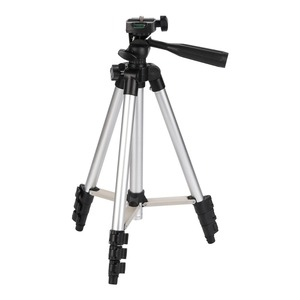 Image 4 - عالمي أربعة أرضية عالية قابلة للتعديل + طوي الحامل ثلاثي الأرجل للكاميرا والهاتف المحمول توفير حامل هاتف مع صندوق البيع بالتجزئة