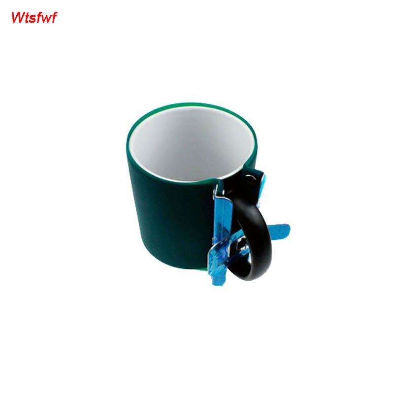wtsfwf бесплатная доставка 6 шт./лот 12 унц. коническая кружка зажим резиновая коническая кружка зажим силиконовые конический кружка зажим для 3д сублимации передачи