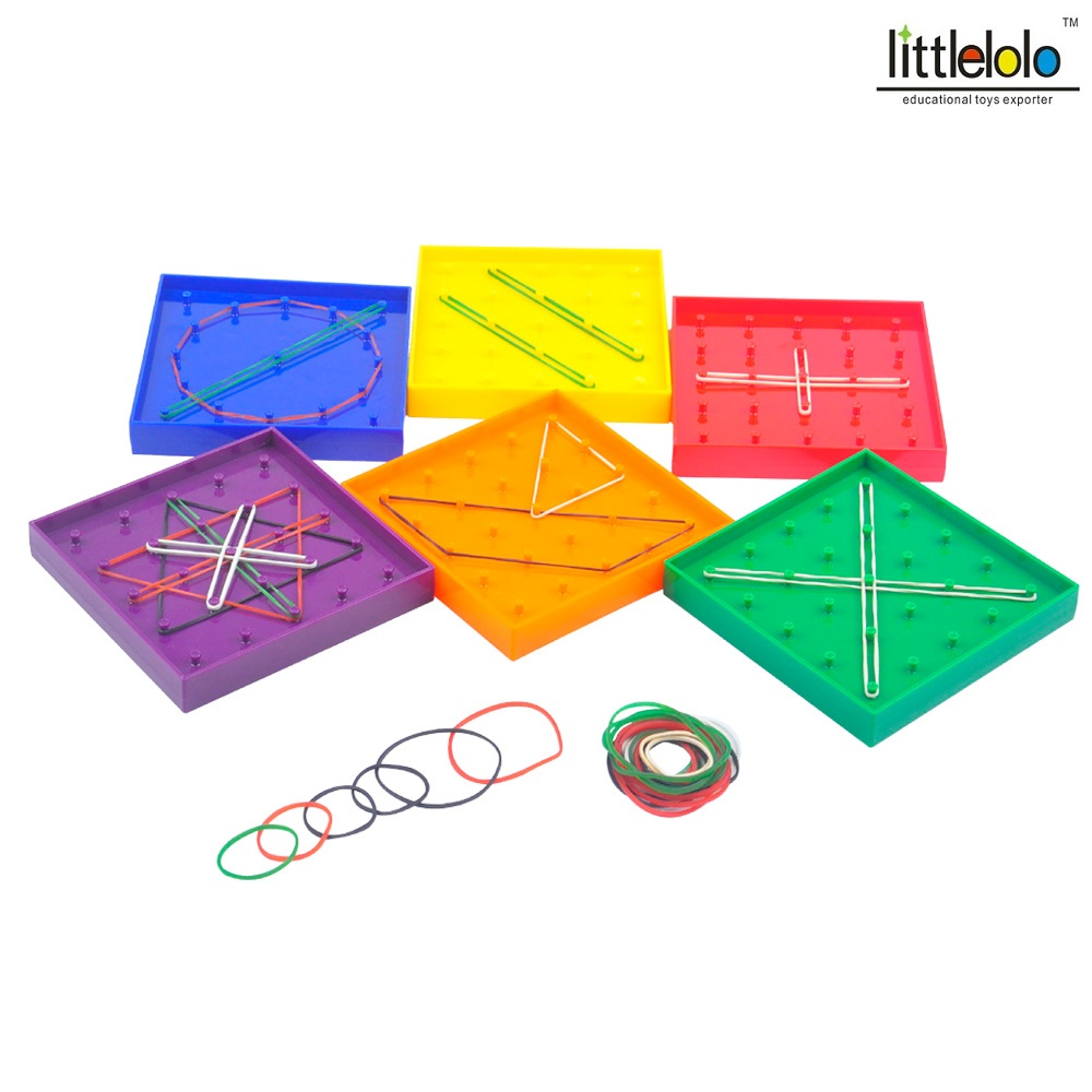 Aliexpress.com : Buy kids educational toy pegboard for ...