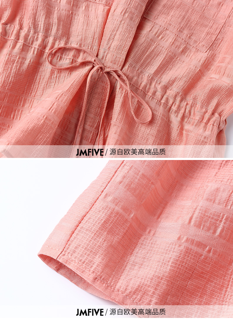 2019 Summer Two Piece Sets Outfits Women Blue Pink Short Sleeve Tunics Tops And Wide Leg Pants Suits Office Elegant 2 Piece Sets 59