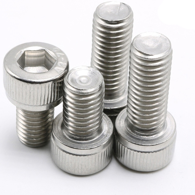 M3 M4 M5Stainless steel Inner hexagonal screw Hex Screws Bolts Metric Thread Head Cap Screws Inner Hex Socket Bicycle Bolt m3 screws m3 bolt 100pcs lot metric thread din912 m3x10 mm m3 10 mm 304 stainless steel hex socket head cap screw bolts